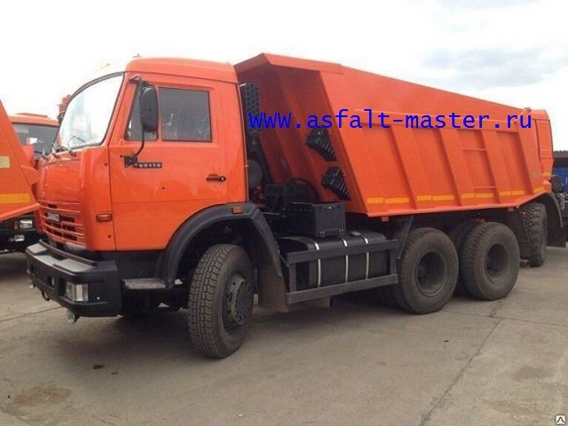 Аренда самосвалов КАМАЗ 6515 Для доставки сыпучих материалов