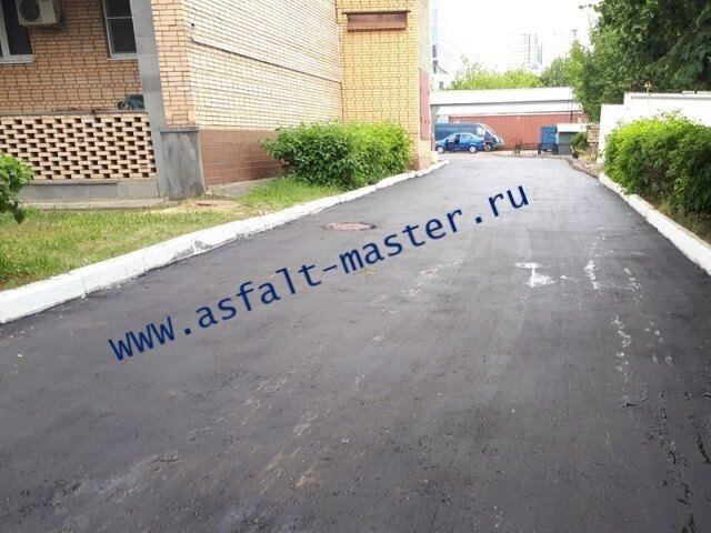 Асфальтирование дорог укладка асфальта в Домодедово